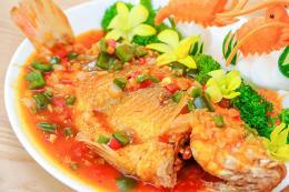 Cách làm món cá chép giòn sốt cà chua ngọt
