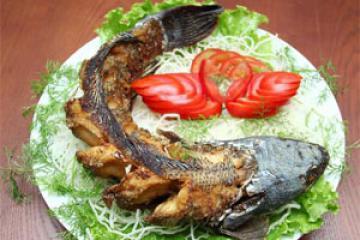 Cá chép giòn nướng lò thơm ngon