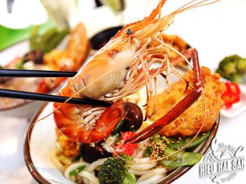 Mỳ Udon Tôm Càng Xanh